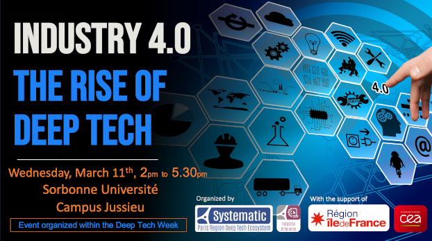 [Retour sur] Industrie 4.0 : the rise of Deep Tech