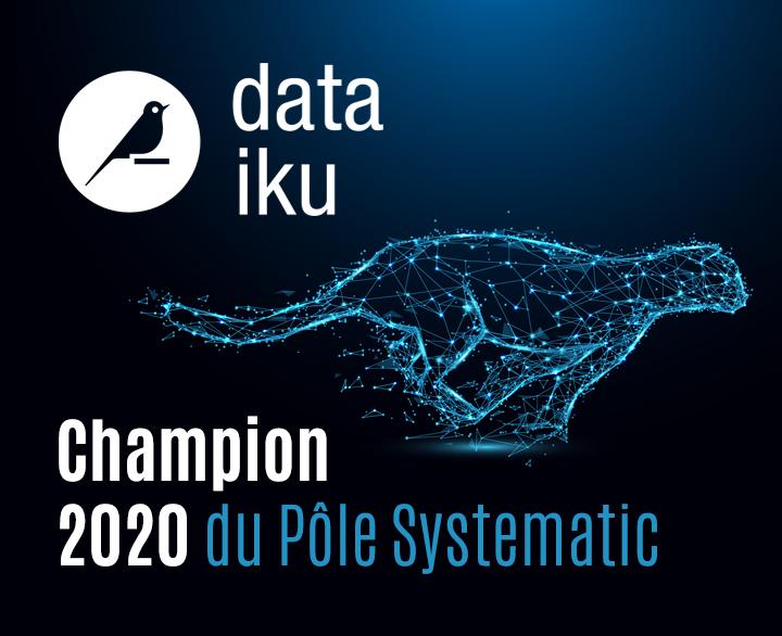 [Interview Champion] Rencontre avec Emilie Stojanowski, Research & Innovation Manager de Dataiku, Champion 2020 du Pôle Systematic