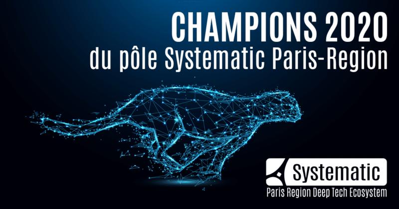 Systematic Paris-Region dévoile ses 5 Champions 2020 : AMARISOFT, CENTREON, DATAIKU, DEVERYWARE et OXAND
