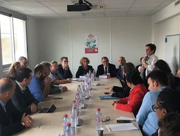 Le Pôle Systematic aux côtés de Muriel Pénicaud et Pôle Emploi pour le lancement du dispositif #Versunmétier