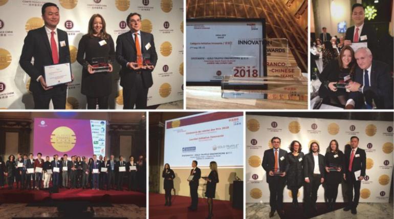 FRENCH DREAM TOWN© – FRENCH CITY BRAND© | Lauréat des Prix de l'Innovation des Équipes Franco-Chinoises, Catégorie Initiative Innovante