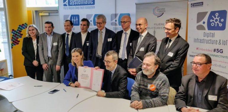 [Retour sur] signature CSF Infrastructures numériques : la France sera au rendez-vous de la 5G !