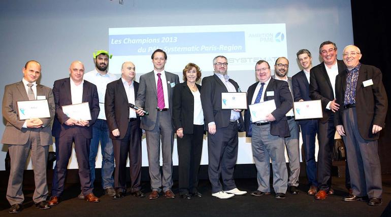 Les 7 Champions 2013 de Systematic Paris-Region ont été dévoilés lors de la journée AMBITION PME