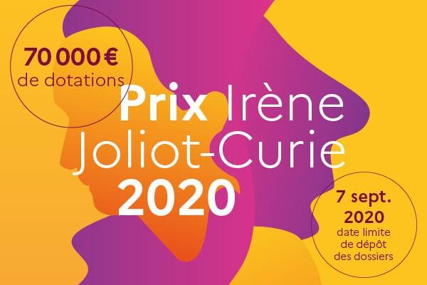 APPEL A CANDIDATURES – 19e édition du Prix Irène Joliot-Curie