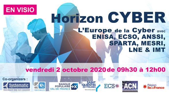 Bannière Horizon Cyber 2020