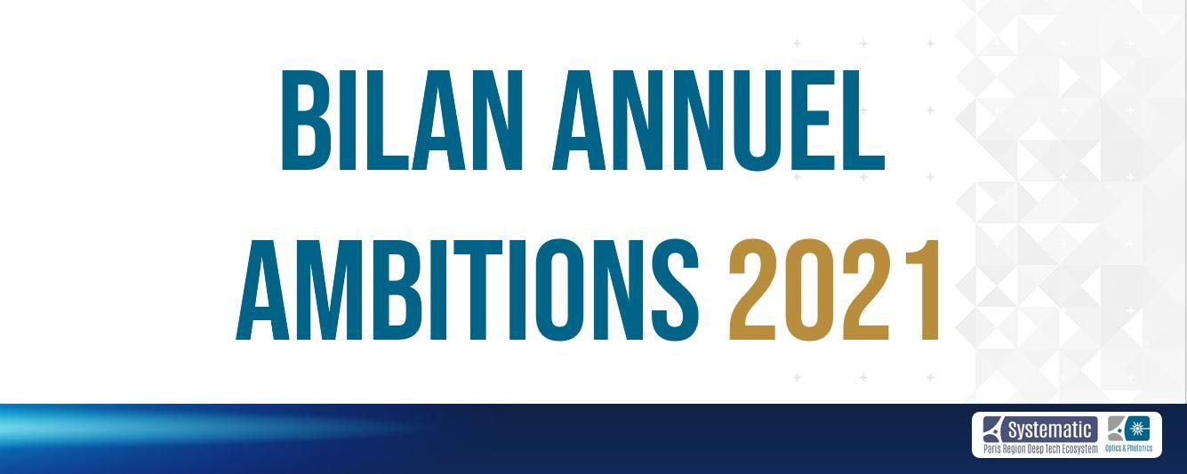 [Hub Optics & Photonics] Bilan 2020 et ambitions 2021