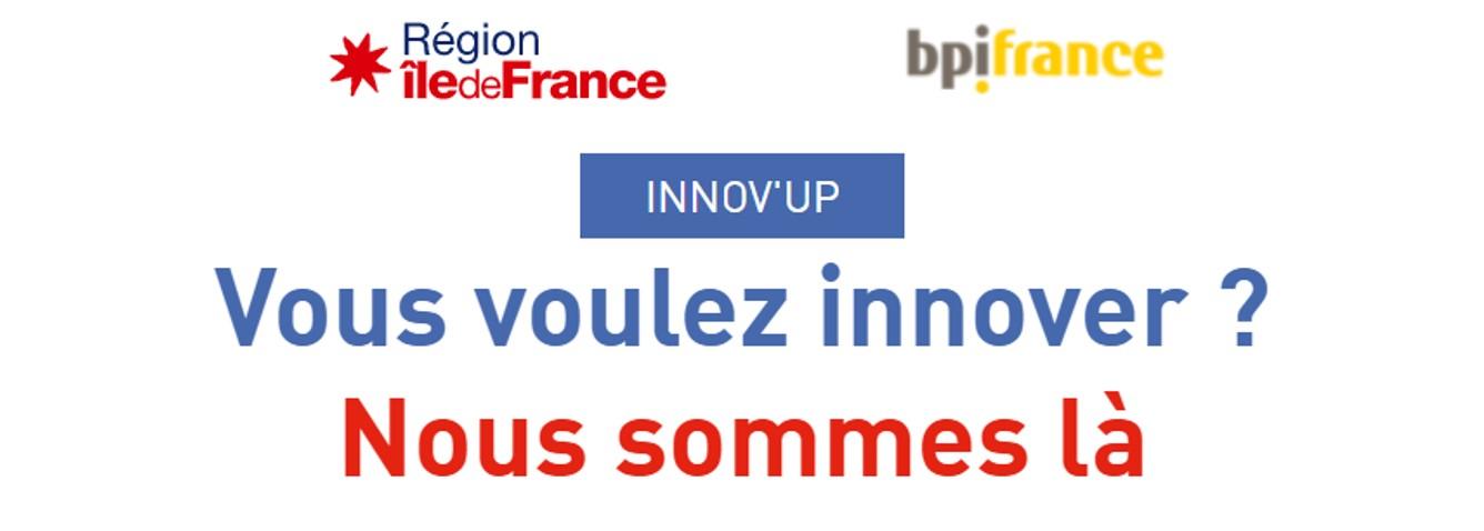 Nouvelles modalités pour Innov'up, l'aide régionale à l'innovation simplifiée et renforcée !