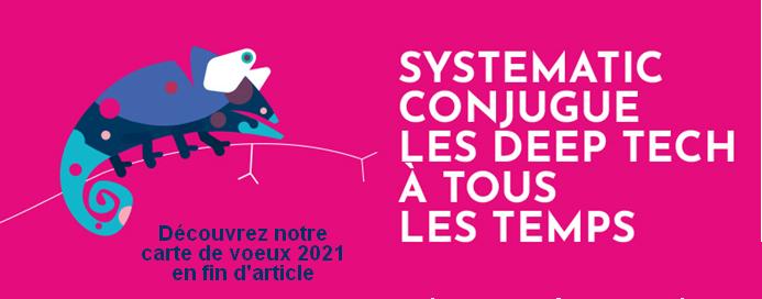 Les voeux de Jean-Luc Beylat, Président de Systematic