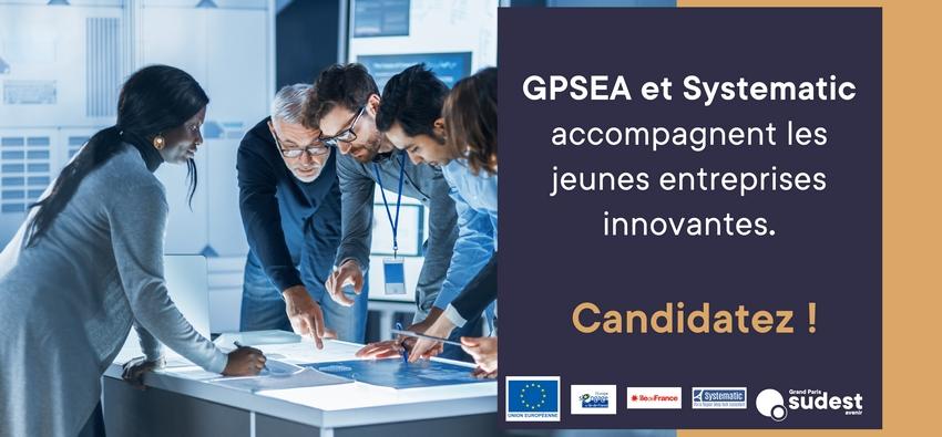 Accompagnement personnalisé et renforcé des porteurs de projets innovants par Grand Paris Sud Est Avenir & Systematic