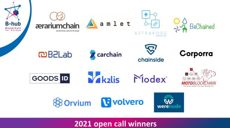 [Europe] 15 nouvelles start-up gagnantes du second appel à projets de B-hub for Europe