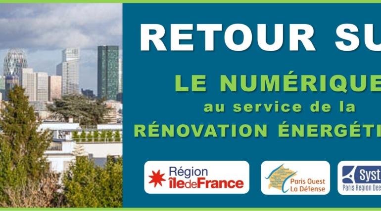 [Retour sur] Le numérique au service de la rénovation énergétique des bâtiments de l'Enjeu Territoires