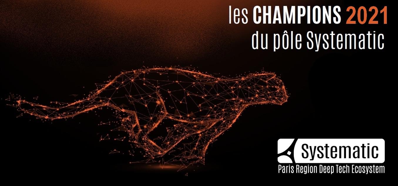 Systematic Paris-Region dévoile ses 5 champions 2021 : ADACORE, ECOMUNDO, IMAGINE OPTIC, QARNOT et TEHTRIS !