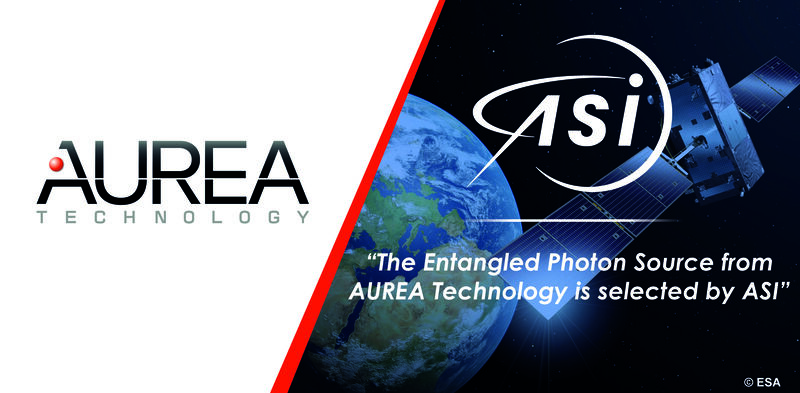 L'Agence Spatiale Italienne choisi AUREA Technology pour ses projets de télécommunications spatiales quantiques.