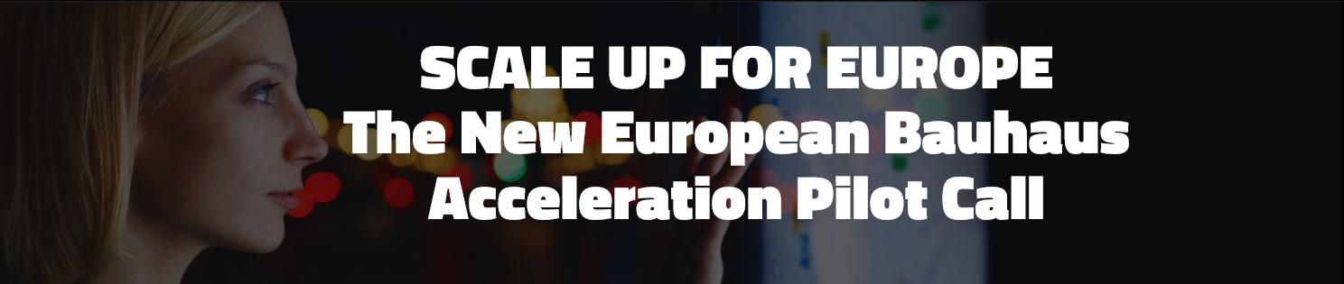[Europe] Le nouvel appel à projet « New European Bauhaus »