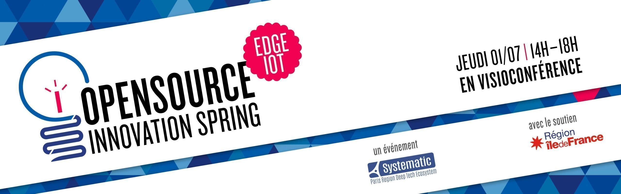 Open Source Innovation Spring – Edge, IoT