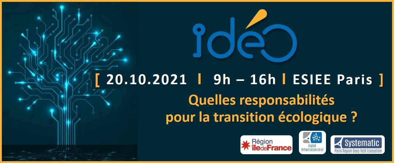 IdéO – Digital Infrastructure & IoT : quelles responsabilités pour la transition écologique ?