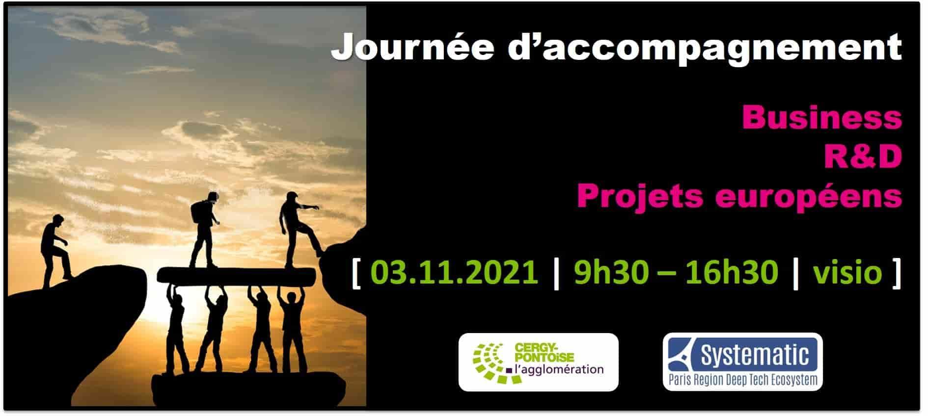 Journée d'accompagnement business, R&D et projets européens par Systematic pour les entreprises de la CA Cergy Pontoise