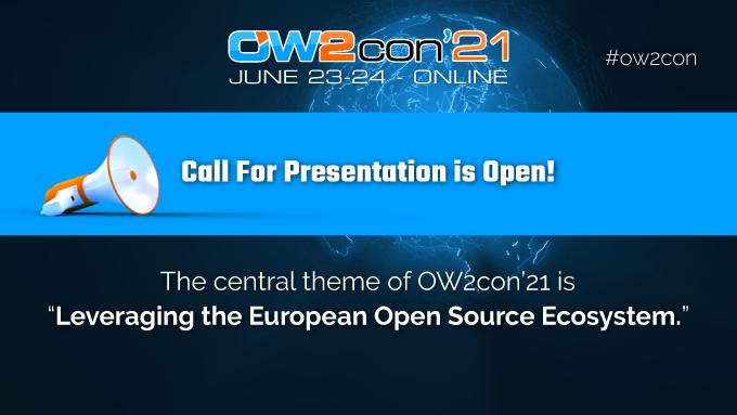 OW2con'21 ouvre son Appel à présentations
